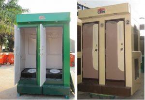 Nhà vệ sinh di động môi trường 2C