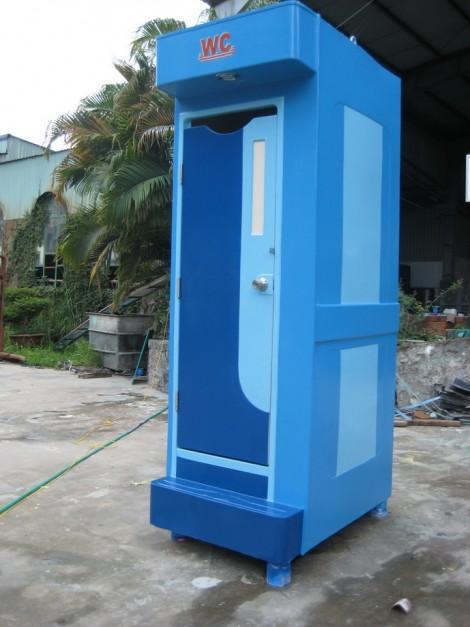 nhà vệ sinh di động dùng cho công trình xây dựng
