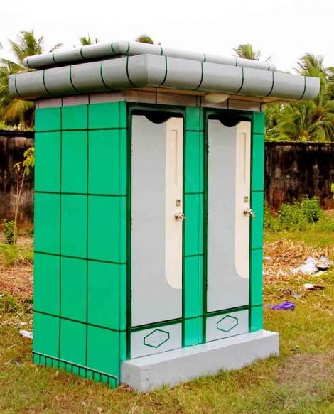 nhà vệ sinh di động phố đô 2A