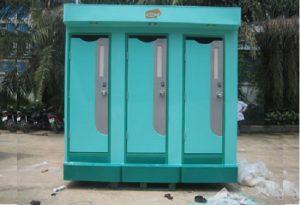 Nhà vệ sinh di động môi trường 3C