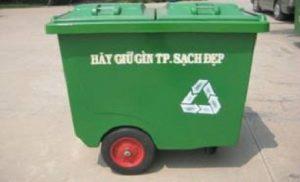 Xe thu gom và phân loại rác Z.660N1