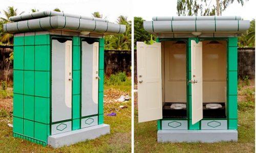 Nhà vệ sinh công cộng phố đô 2A